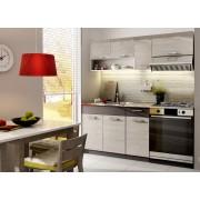 Smartshop Kuchyně MOOREA 120/180 cm, dub picard/lava