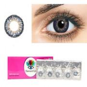 Diamond eye one day Dark blue color Disposable color contact lens (zero power)