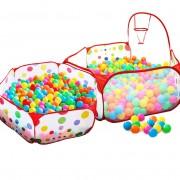Piscine À Balles Pour Enfants Tente De Jeu Bébé Portable Océan Boule Piscine Jouets Ar Ball S