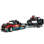 LEGO Technic 42106 Kaszkadőr teherautó és motor