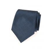 Pánská tmavěmodrá kravata se světlým vzorkem Avantgard 559-1610