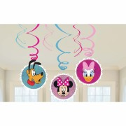 6 spirale decorative party Minnie Mouse
