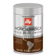 Cafea illy Espresso monoarabica BRAZILIA boabe cu cofeina 250gr