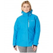 Columbia Plus Size Alpine Actiontrade Omni-Heattrade Jacket Fathom Blue