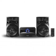 Panasonic 300 W, 2 Canali, Cd-Da, Mp3, Usb 2.0, Fm/ 30, Bluetooth, Ac 220-240V, 50Hz, 49 W, Nero