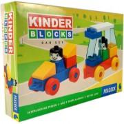 Peacock Kinder Blocks Car Set