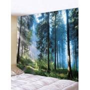 Rosegal Tapisserie Décoration Forêt Imprimée en Polyester Largeur 91 x Longueur 71 pouces
