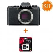 Kit Fujifilm X-T100 Body Negru + Card Memorie Kingston 32GB