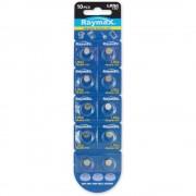 Batterie a bottone Alcalina LR54 LR1130 189 AG10 (set 10 pz)
