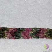 Sirag turmalina multicolor sfere 3mm, 33cm