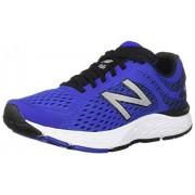 New Balance Men's 680v6 Cushioning Running Shoe, uv blue/black, 11 D US