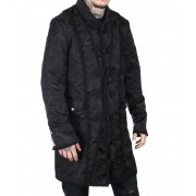 kabát férfi ADERLASS - Classic Coat Brocade Black - A-7-03-040-00