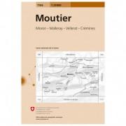 Swisstopo 1106 Moutier Carta escursionistica