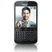 "Telefon Mobil BlackBerry Classic Q20, Procesor Dual-Core 1.5GHz Krait , Capacitive touchscreen 3.5"", 2GB RAM, 16GB Flash, 8MP, 4G, Wi-Fi, BlackBerry 10.3.1 (Negru) + Cartela SIM Orange PrePay, 6 euro credit, 6 GB internet 4G, 2,000 minute nationale si int"