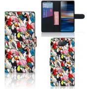 Sony Xperia 10 Plus Telefoonhoesje met Pasjes Birds