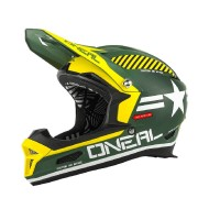 Oneal O´Neal Fury Fidlock RL Afterburner Casco descenso Verde XL (61/62)