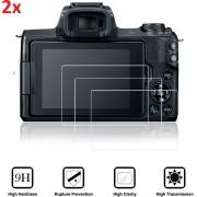 2X Tempered Glass Screen Protector Voor Canon EOS M6/M50/M100 (Body) - Ultradun Gehard Glas