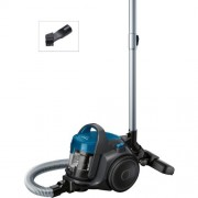 GARANTIE 2 ANI Aspirator fara sac Bosch, 700W; consum anual de energie: 28 kWh/an; container de praf 1,5 l, laguna blue BGS05A220