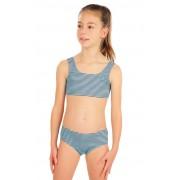 LITEX Dívčí plavky kalhotky bokové 57557 134