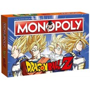 Winning Moves Games Dragonball Z Board Game Monopolygerman Version Winning Moves Giochi Tavolo