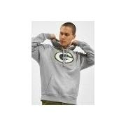 New Era / Hoody Team Logo Green Bay Packers in grijs - Heren - Grijs - Grootte: Small