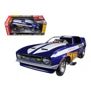 Autoworld AW1171 1971 Ford Mustang Blue Max Richard Tharp Funny Car Limited Edition to 750 Pieces 1-18 Model Car