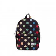 Dětský batoh Herschel Heritage černý s barevným motivem