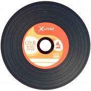 Vinyl-Look CD-R 700MB/80Min 52x, 100er-Spindel