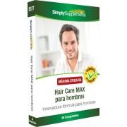 Simply Supplements Hair Care MAX para hombres - 60 Comprimidos