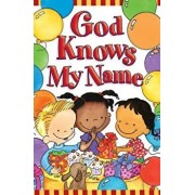 God Knows My Name (Pack of 25), Paperback/Debby Anderson