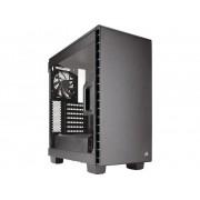 Midi-tower PC-behuizing Corsair Carbide Clear 400C Zwart 2 voorgeïnstalleerde ventilators, Zijvenster, Stoffilter, Harde schijf installatie zonder gereedschap