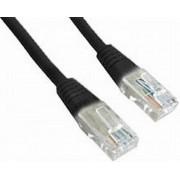Cablu UTP Patch cord Gembird cat. 5E, 3m (Negru)