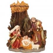 Merkloos Kerst beeldje geboorte Jezus 16 cm