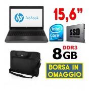"""HP PC PORTATILE NOTEBOOK HP PROBOOK 6570B 15.6"""" CORE I5 SSD RAM 8GB SERIALE RS232"""