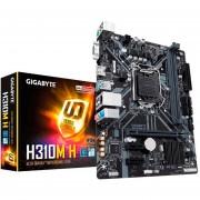 Tarjeta Madre GIGABYTE H310M H 1151 DDR4 Micro ATX