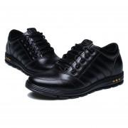 Zapatos Hombre Con Plantilla Ascender - Negro