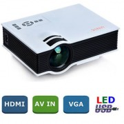 UNIC UC40 LED Projector LED LCD 3D Projectors AV USB SD HDMI Projector