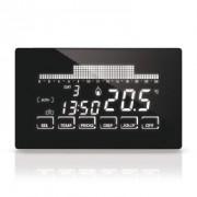 Fantini Cosmi Cronotermostato Touch Screen 2 Aa 1,5v 250vc Ip20 Settimanale Ultrapiatto
