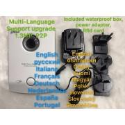 Include waterproof box.Dahua VTO6100C Villa Outdoor Station Video Door Phone Video Intercom IC card opening unlock remotely