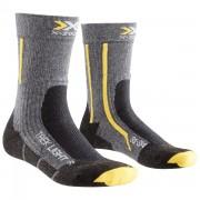X-SOCKS Calze trekking X-Socks Light Junior (Colore: antracite-giallo, Taglia: 35/38)