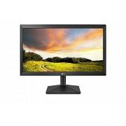 LG 20 inch (49.53 cm) LED Monitor - HD Ready TN Panel with VGA Port - 20MK400A (Black)