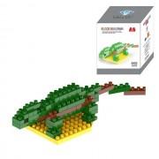 Hagedis Cartoon Lego geassembleerd kinderen DIY verlichting geassembleerde bouwstenen educatieve intelligentie speelgoed