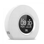 JBL Horizon Orologio Digitale Bianco radio