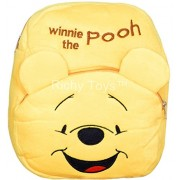 Richy Toys Winnie The Pooh Cute Kids Plush Backpack Cartoon Toy Children's Gifts Boy/Girl/Baby/Student Bags Decor School Bag For Kids (Pooh)