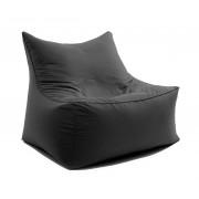 Sitting Bull CUBIC LOVE SEAT Sitzsack-Sessel für Zwei - grau - L 70 x B 90 x H 80 cm