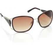 Miami Blues Over-sized Sunglasses(Brown)