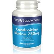 Simply Supplements Condroitina Marina 750 mg (100%) 180 Capsule