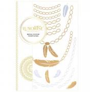 Tatuaj Temporar LUXORISE Henna Temptation Gold Edition E023