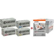 Kyocera value pack czarny / cyan / magenta / zólty oryginał TK-5230 MCVP