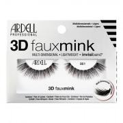 Ardell 3D Faux Mink 861 vícevrstvé umělé řasy 1 ks odstín Black pro ženy